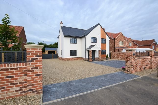 Thumbnail Detached house for sale in Sandy Lane, South Wootton, Kings Lynn, Norfolk.