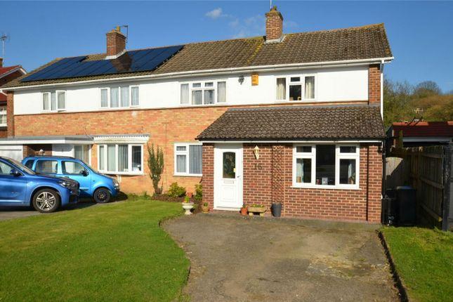 Thumbnail Semi-detached house for sale in Falconwood Road, Addington, Croydon, Surrey