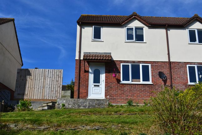 Thumbnail End terrace house for sale in Agnes Close, Bude