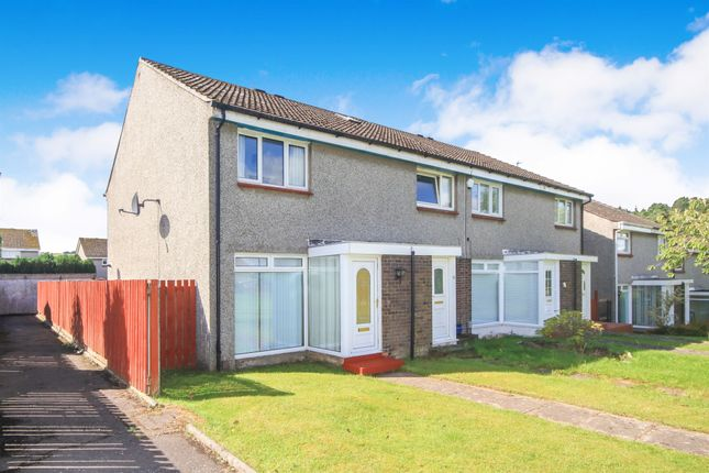 Thumbnail End terrace house for sale in Kirkhill Grove, Cambuslang, Glasgow