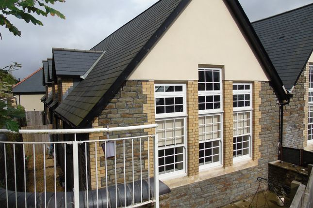 Thumbnail Town house for sale in Old School Lane, Pontypridd