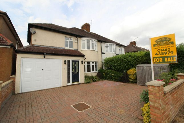 Thumbnail Semi-detached house for sale in Periwinkle Lane, Hitchin, Hertfordshire