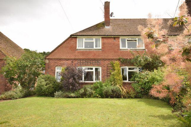 Thumbnail Semi-detached house for sale in Grange Road, St Marys Platt, Sevenoaks, Kent