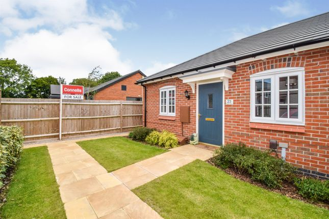 Thumbnail Semi-detached bungalow for sale in Marsh Drive, Husbands Bosworth, Lutterworth
