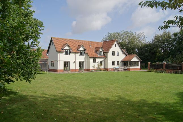 Thumbnail Detached house for sale in Tailors Green, Bacton, Stowmarket