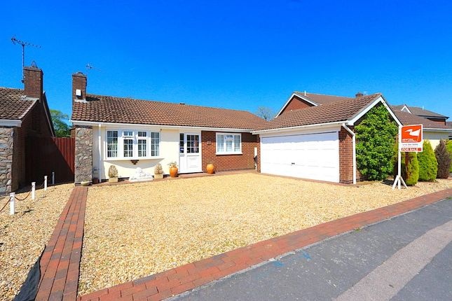 Thumbnail Detached bungalow for sale in Seymour Way, Leicester Forest East, Leicester