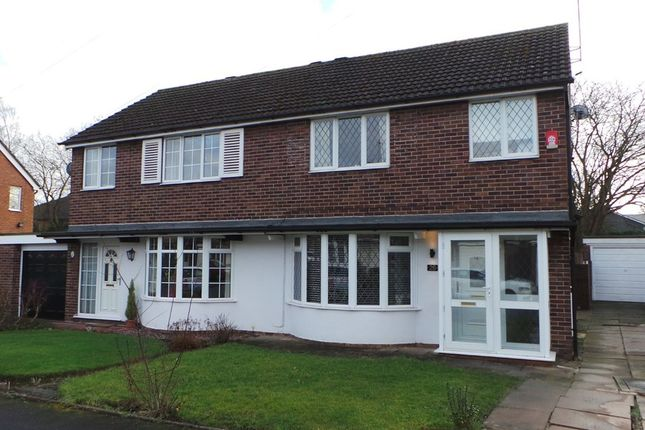 Thumbnail Semi-detached house to rent in Chessington Crescent, Trentham, Stoke-On-Trent