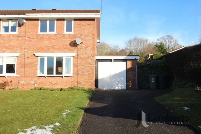 Thumbnail Semi-detached house for sale in Bascote Close, Headless Cross, Redditch