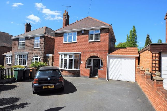Thumbnail Detached house for sale in York Road, Church Gresley, Swadlincote