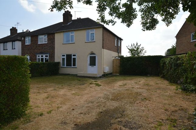 Thumbnail Semi-detached house to rent in Alwyn Road, Bilton, Rugby, Warwickshire
