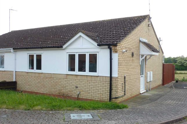 Thumbnail Semi-detached bungalow to rent in Mallard Drive, Caistor, Market Rasen