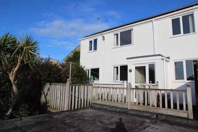 4 bed semi-detached house for sale in Tredour Road, Newquay TR7