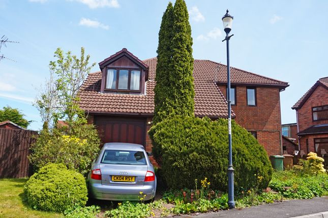 Thumbnail Detached house for sale in Cae Maen Llwyd, Cefn Hengoed, Hengoed