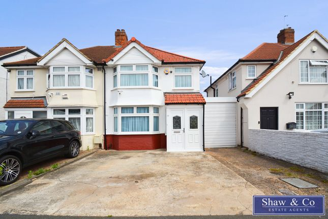 Thumbnail Semi-detached house for sale in Clairvale Road, Heston, Hounslow