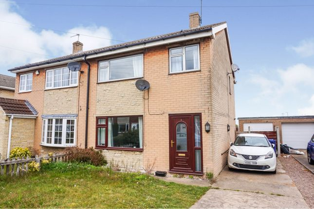 Thumbnail Semi-detached house for sale in Fernbank Drive, Armthorpe, Doncaster