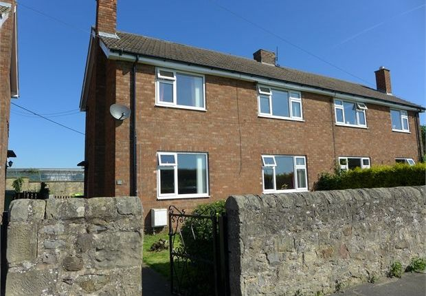 Thumbnail Semi-detached house to rent in New Houses, Newton Morrell, Barton, North Yorkshire.