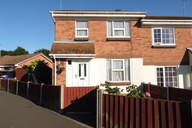 Thumbnail Semi-detached house for sale in Corbyn Shaw Road, King's Lynn