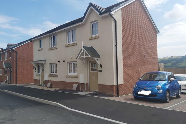 Thumbnail Semi-detached house for sale in Highfields, Tonyrefail, Porth
