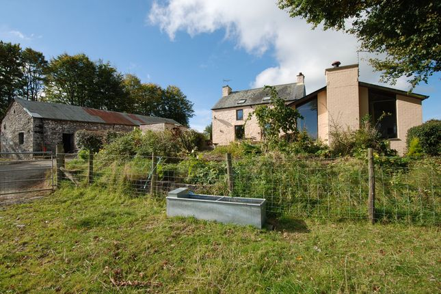 Thumbnail Farmhouse for sale in Bwlchllan, Lampeter
