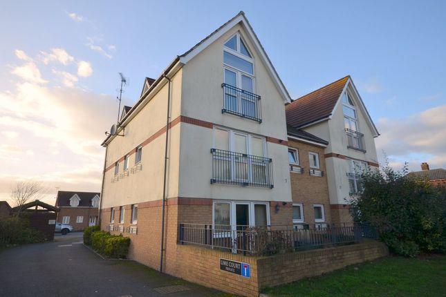 Thumbnail Flat for sale in Lime Court, Kennington, Ashford