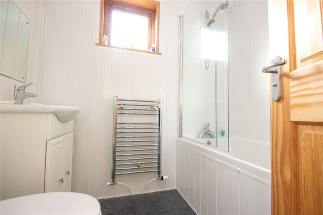 Ensuite of Lodge N12, Lowther Holiday Park, Eamont Bridge, Penrith, Cumbria CA10