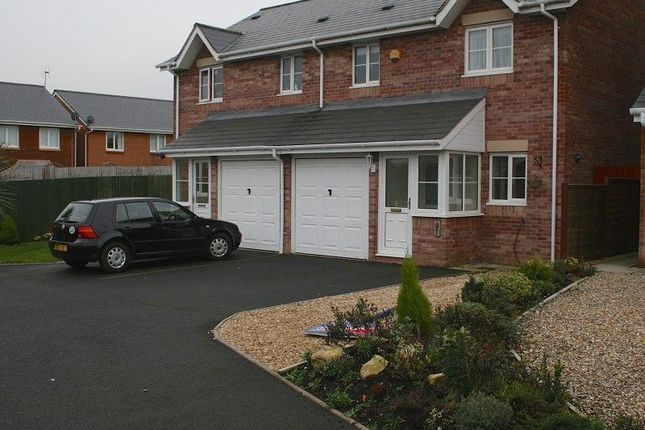 Thumbnail Semi-detached house to rent in Llys Eglwys, Broadlands, Bridgend