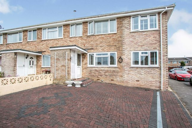 Thumbnail End terrace house for sale in Tamar Close, Ferndown
