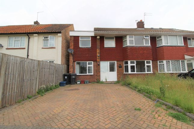 Thumbnail Semi-detached house to rent in Fairmead Close, Heston, Hounslow