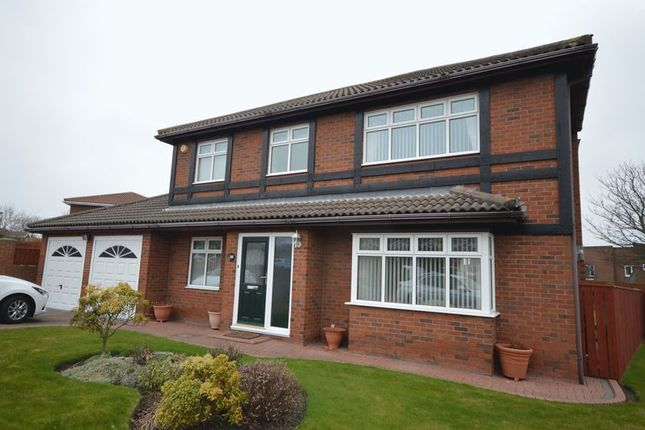Thumbnail Detached house for sale in Preston Wood, North Shields