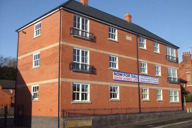 Thumbnail Flat to rent in Apartment 3, Speeds Court, King Street, Alfreton