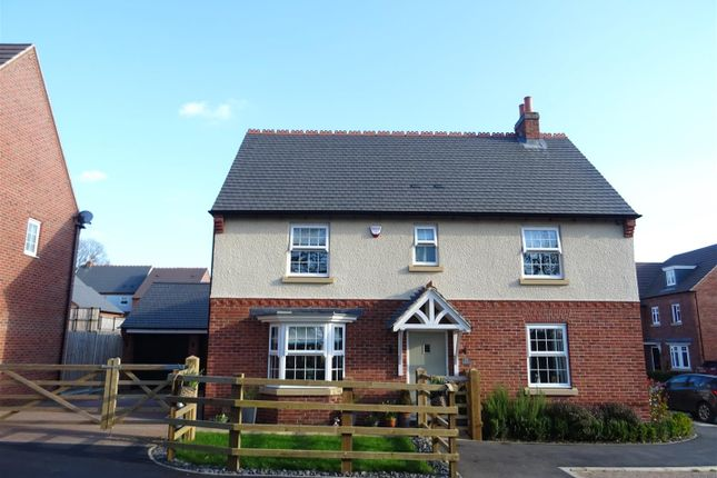 Detached house for sale in Bluebell Way, Coalville, Leicestershire