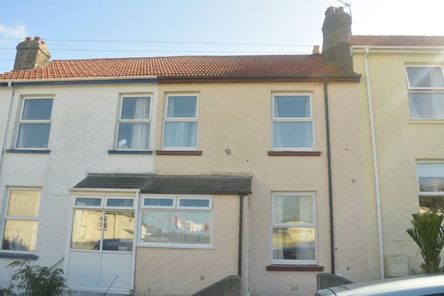 Thumbnail Terraced house to rent in Beacon Road, Falmouth, Cornwall