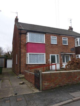 Thumbnail Semi-detached house for sale in Stepney Avenue, Bridlington