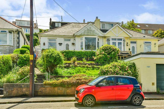 Thumbnail Semi-detached bungalow for sale in New Road, Saltash