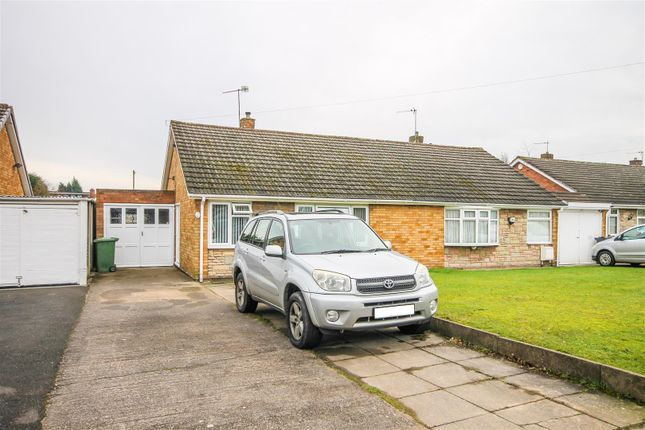 Thumbnail Semi-detached bungalow for sale in Castle Drive, The Hayes, Willenhall