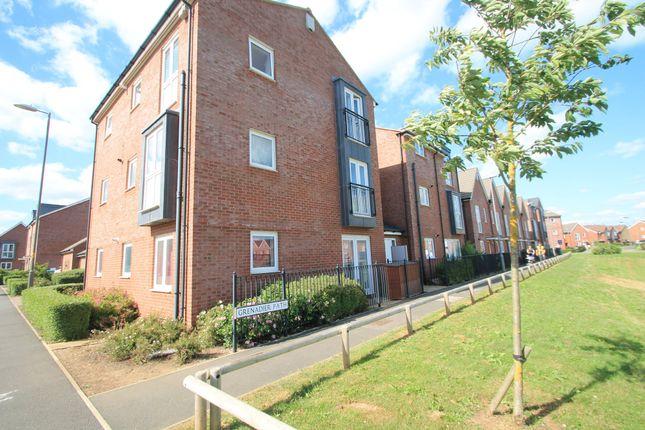 Thumbnail Flat to rent in Grenadier Path, Aylesbury, Buckinghamshire