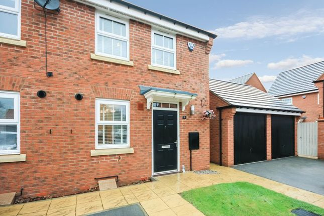 Thumbnail Terraced house for sale in Fossview Close, Strensall, York