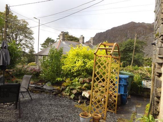 Side Garden Area of Upper Llwyngell Terrace, Rhiwbryfdir, Blaenau Ffestiniog, Gwynedd LL41
