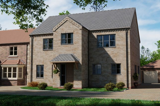 Thumbnail Detached house for sale in Thorne Lane, Scothern, Lincoln