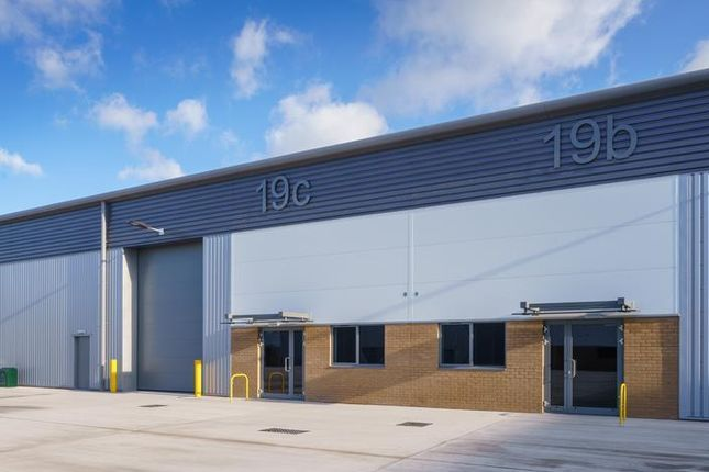 Thumbnail Industrial for sale in Unit, Unit 19B, c & d, Access 18, Kings Weston Lane, Avonmouth