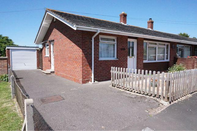 Thumbnail Semi-detached bungalow for sale in Vicarage Close, Creech St Michael, Taunton