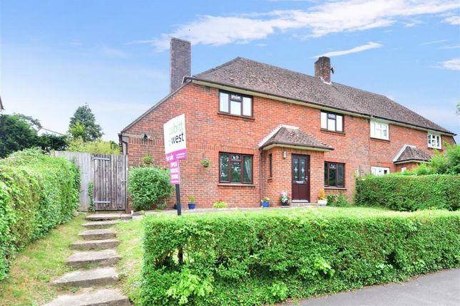Thumbnail Semi-detached house for sale in Meadowside, Storrington, West Sussex