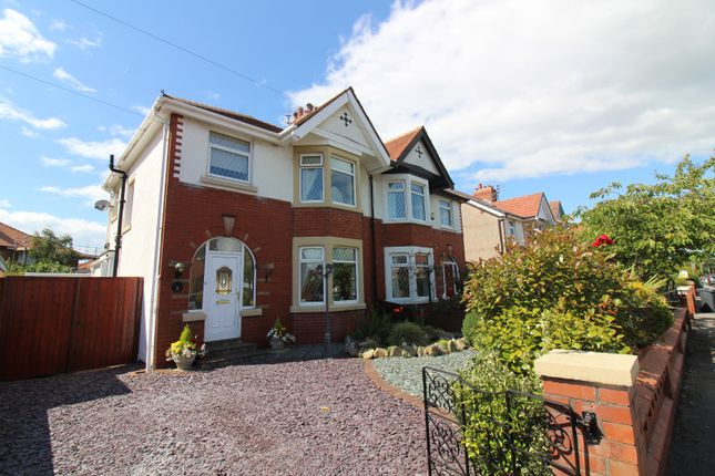 Thumbnail Semi-detached house for sale in Ormont Avenue, Cleveleys
