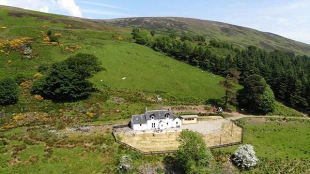 Detached house to rent in Newton Cottage, Colintraive, Argyll And Bute