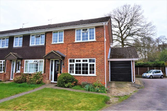 Thumbnail End terrace house for sale in Henley Drive, Frimley Green