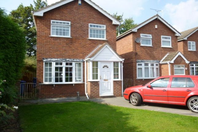 Thumbnail Detached House To Rent In Arundel Drive Spondon Derby