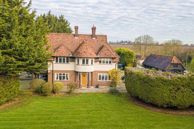 Thumbnail Detached house for sale in Chalk Lane, Hobbs Cross, Harlow