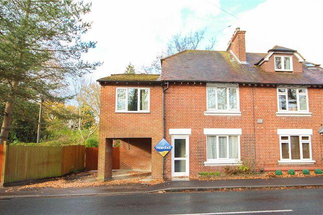 Thumbnail Semi-detached house for sale in Aldershot Road, Church Crookham, Fleet