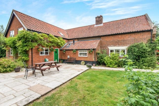 Thumbnail Detached house for sale in Suton, Wymondham, Norfolk