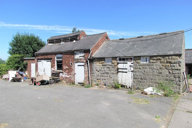 Outbuildings of The Barn, Clay Cross, Chesterfield S45